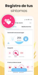 Screenshot 5 de Calendario Menstrual Mia: Ovulacion Dias Fertiles para android