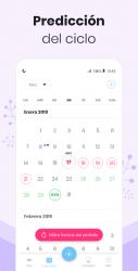 Captura 4 de Calendario Menstrual Mia: Ovulacion Dias Fertiles para android