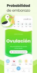 Captura 3 de Calendario Menstrual Mia: Ovulacion Dias Fertiles para android