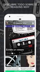 Screenshot 2 de Trece Razones Amino para android