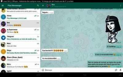 Captura de Pantalla 10 de Messenger Plus 2020 para android