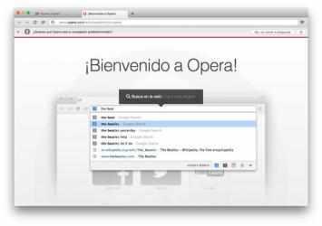 Captura 1 de Opera para mac