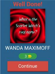 Captura de Pantalla 10 de WandaVision Trivia Questions para android