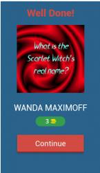 Captura de Pantalla 3 de WandaVision Trivia Questions para android