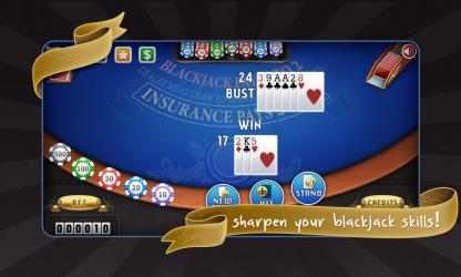 Captura 2 de Blackjack Free! para windows