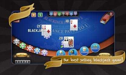 Captura de Pantalla 3 de Blackjack Free! para windows