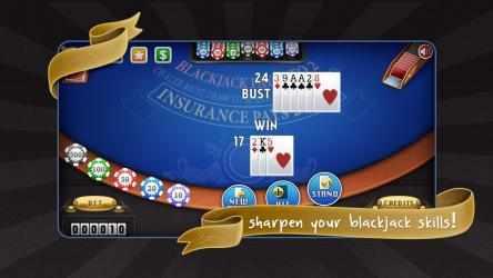 Captura de Pantalla 6 de Blackjack Free! para windows