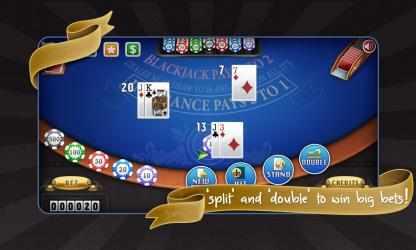 Captura 4 de Blackjack Free! para windows