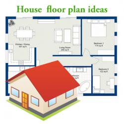 Captura 1 de Ideas de planos de planta de la casa para android