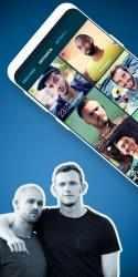 Screenshot 2 de ROMEO – Chat gay para ligar para android