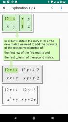 Screenshot 9 de Algebrator - soluciona tareas matemáticas a pasos para android