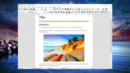 Screenshot 2 de Trio Office: Word, Slide, Spreadsheet & PDF Compatible para windows