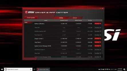 Imágen 1 de MSI Driver & App Center para windows
