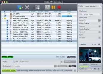 Captura de Pantalla 1 de Mp4 Converter para mac
