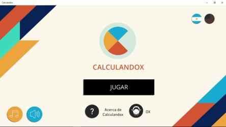 Screenshot 1 de Calculandox para windows