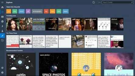 Captura de Pantalla 5 de Ouga - Tumblr App para windows