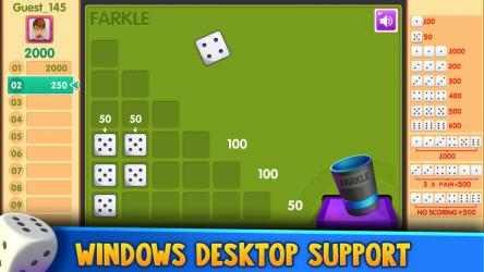 Screenshot 5 de Farkle Free!! para windows