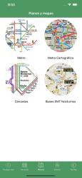 Screenshot 5 de Transporte Madrid Tiempo Real para iphone