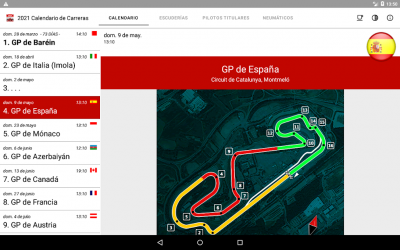 Screenshot 11 de Calendario de Carreras 2021 (Sin anuncios) para android