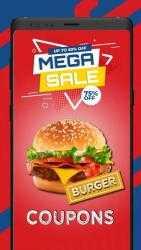 Captura de Pantalla 2 de Cupones para Burger King para android
