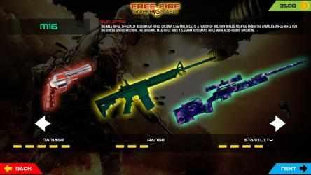 Captura de Pantalla 12 de 3D Free Fire Battleground Epic Survival Squad para android