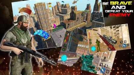 Screenshot 8 de 3D Free Fire Battleground Epic Survival Squad para android