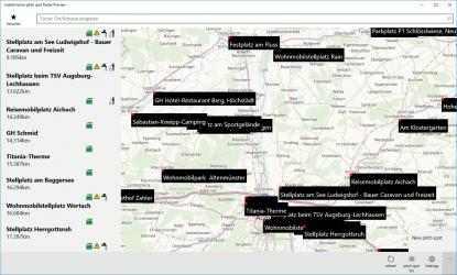 Imágen 1 de mobile home pitch spot finder para windows