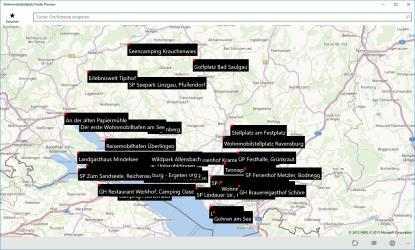 Screenshot 4 de mobile home pitch spot finder para windows