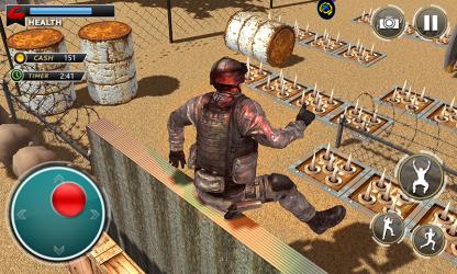 Screenshot 5 de campo de entrenamiento del ejército de los para android