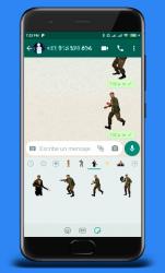 Screenshot 8 de Stickers de Left 4 Dead 2 para WhatsApp para android
