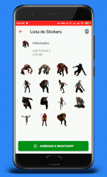 Captura 5 de Stickers de Left 4 Dead 2 para WhatsApp para android