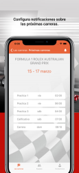 Captura de Pantalla 3 de Fórmula Calendario 2020 para iphone