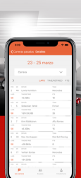 Screenshot 7 de Fórmula Calendario 2020 para iphone