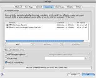 Screenshot 5 de Express Scribe Professional for Mac para mac