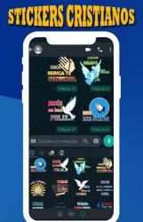 Captura de Pantalla 11 de Stickers Cristianos para WhatsAPP para android