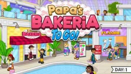 Captura de Pantalla 2 de Papa's Bakeria To Go! para android