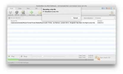 Captura de Pantalla 3 de Express Burn CD and DVD Burner for Mac para mac