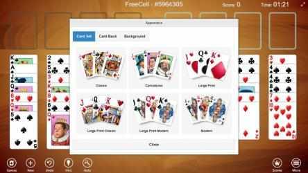 Screenshot 6 de 123 Free Solitaire para windows