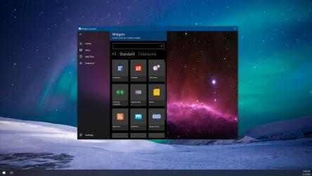 Captura de Pantalla 3 de Widget Launcher para windows