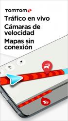 Captura de Pantalla 2 de TomTom GO Navigation: Alertas de Tráfico, Radares para android