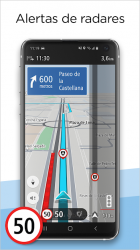 Captura de Pantalla 6 de TomTom GO Navigation: Alertas de Tráfico, Radares para android