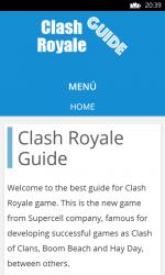 Screenshot 1 de Guide for Clash Royale para windows