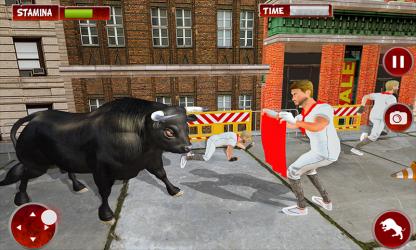 Captura 4 de Simulador De Ataque De Ciudad Toro Enojado para android