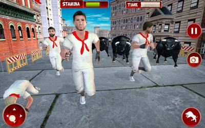 Captura 13 de Simulador De Ataque De Ciudad Toro Enojado para android