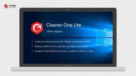 Captura 1 de Cleaner One (Lite): libere RAM y memoria del PC, optimice y acelere su equipo para windows