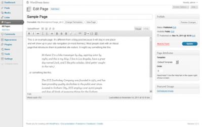 Captura de Pantalla 3 de WordPress para windows