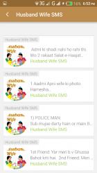 Captura 4 de Husband Wife SMS para android