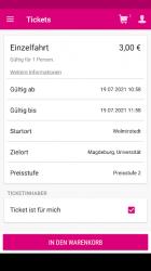 Screenshot 8 de INSA - alle Infos zum starken Nahverkehr para android