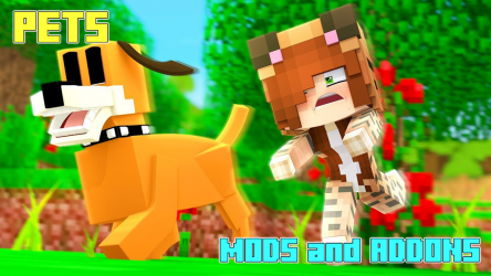 Captura de Pantalla 4 de Pets Mod - Animal Mods and Addons para android