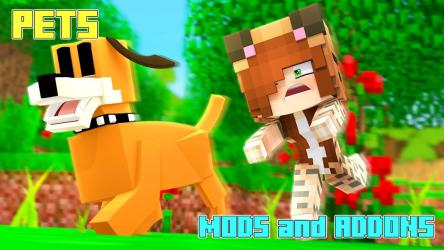 Captura 2 de Pets Mod - Animal Mods and Addons para android